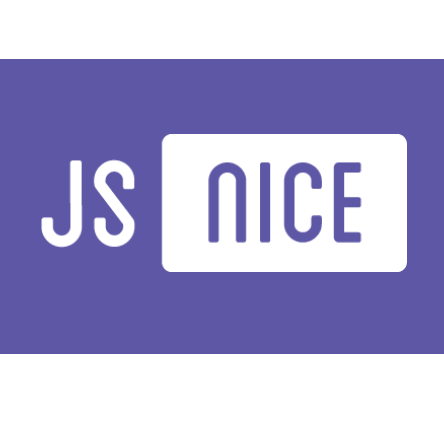 JS NICE: Statistical renaming, Type inference and Deobfuscation